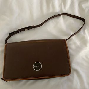 Givenchy bag. Gorgeous brown leather.